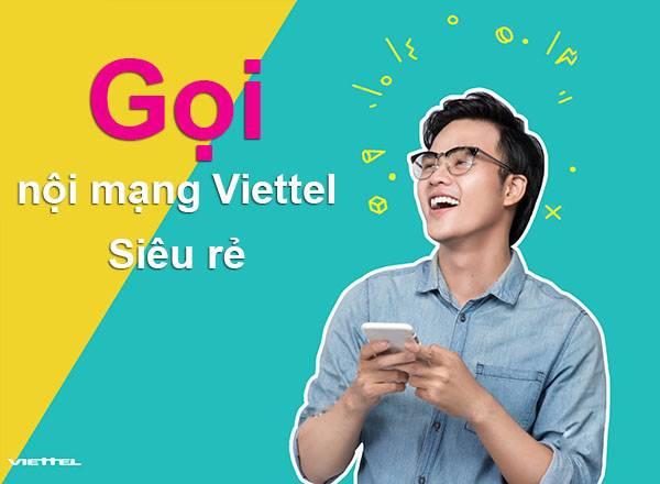 đăng ký gói cước gọi nội mạng viettel