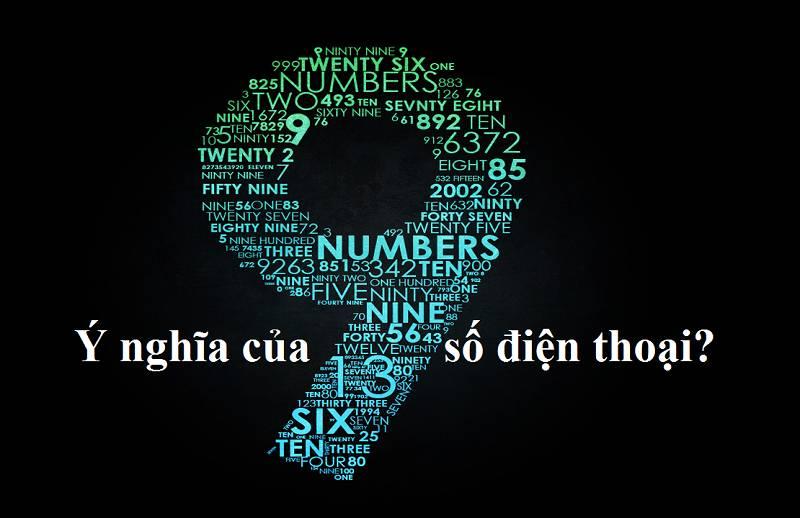 ý nghĩa số điện thoại